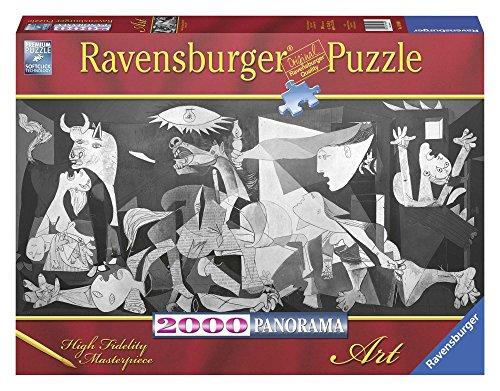 Ravensburger Puzzle 2000 Pezzi Pablo Picasso Guernica Collezione Arte Jigsaw Puzzle Per Adulti Puzzles Ravensburger Stampa Di Alta Qualita Formato Panorama Orizzontale 0