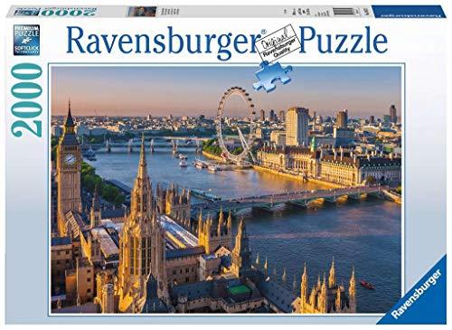 Ravensburger Puzzle 2000 Pezzi Puzzle Atmosfera Londinese Collezione Foto E Paesaggi Jigsaw Puzzle Per Adulti Puzzles Ravensburger Stampa Di Alta Qualita Dimensione Puzzle 98x75cm 0