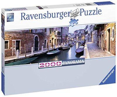 Ravensburger Puzzle 2000 Pezzi Puzzle Venezia Di Sera Formato Panorama Collezione Foto E Paesaggi Jigsaw Puzzle Per Adulti Puzzles Ravensburger Stampa Di Alta Qualita 0