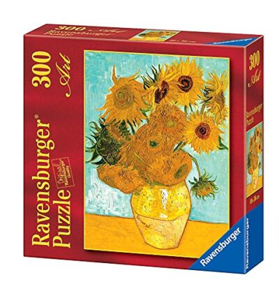 Ravensburger Puzzle 300 Pezzi Van Gogh Vaso Di Girasoli Puzzle Van Gogh Collezione Arte Puzzle Arte Per Adulti E Ragazzi Stampa Di Alta Qualita 0