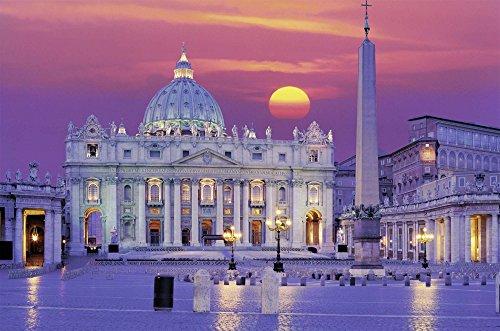 Ravensburger Puzzle 3000 Pezzi Basilica Di San Pietro Puzzle Roma Collezione Paesaggi Foto Puzzle Ravensburger Stampa Di Alta Qualita 0 0
