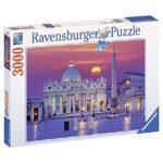 Ravensburger Puzzle 3000 Pezzi Basilica Di San Pietro Puzzle Roma Collezione Paesaggi Foto Puzzle Ravensburger Stampa Di Alta Qualita 0