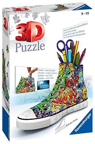 Ravensburger Puzzle 3d Sneaker Graffiti Style Rap125975 0 0