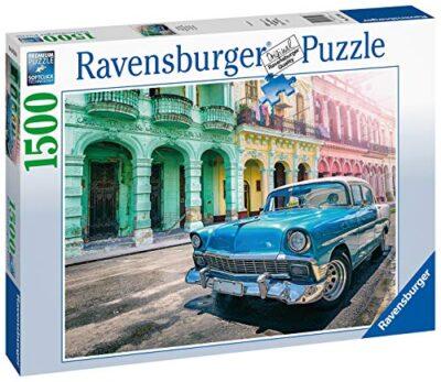 Ravensburger Puzzle Automobile A Cuba Puzzle 1500 Pezzi Relax Puzzles Da Adulti Dimensione 80x60 Cm Stampa Di Alta Qualita Travel Viaggi 0 0