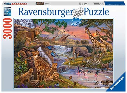 Ravensburger Puzzle Il Regno Animale Puzzle 3000 Pz Illustrazioni Puzzle Per Adulti 0
