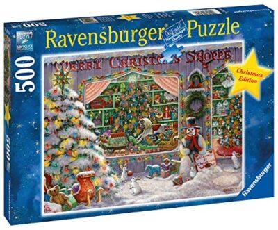 Ravensburger Puzzle Il Negozio Di Natale Puzzle 500 Pz Puzzle Per Adulti 0 0
