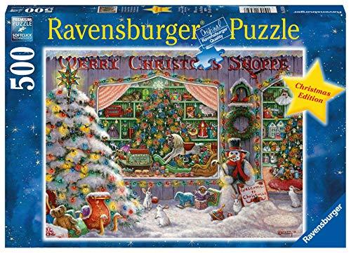 Ravensburger Puzzle Il Negozio Di Natale Puzzle 500 Pz Puzzle Per Adulti 0