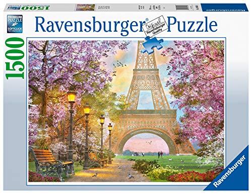 Ravensburger Puzzle Paris Amore A Parigi Puzzle 1500 Pezzi Relax Puzzles Da Adulti Dimensione 80x60 Cm Stampa Di Alta Qualita Travel Viaggi 0