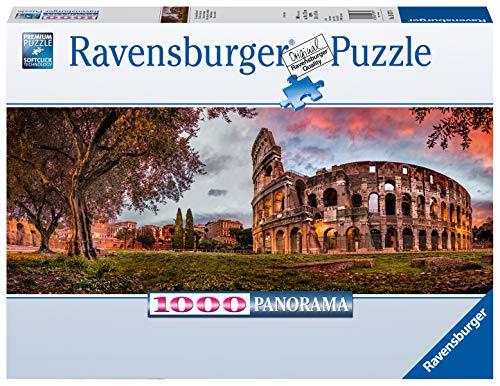 Ravensburger Puzzle Puzzle 1000 Pezzi Colosseo Al Tramonto Formato Panorama Puzzle Per Adulti Puzzle Roma Puzzle Ravensburger Stampa Di Alta Qualita 0