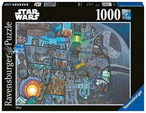 Ravensburger Puzzle Puzzle 1000 Pezzi Dove Wookie Puzzle Puzzle Star Wars Puzzle Per Adulti Puzzle Ravensburger Stampa Di Alta Qualita 0 1
