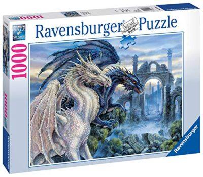 Ravensburger Puzzle Puzzle 1000 Pezzi Drago Collezione Fantasy Puzzle Per Adulti Puzzle Ravensburger Stampa Di Alta Qualita 0 0