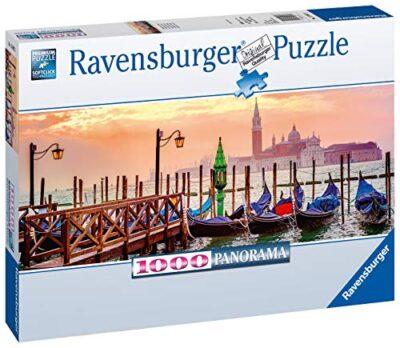 Ravensburger Puzzle Puzzle 1000 Pezzi Gondole A Venezia Formato Panorama Puzzle Per Adulti Puzzle Venezia Puzzle Ravensburger Stampa Di Alta Qualita 0 0