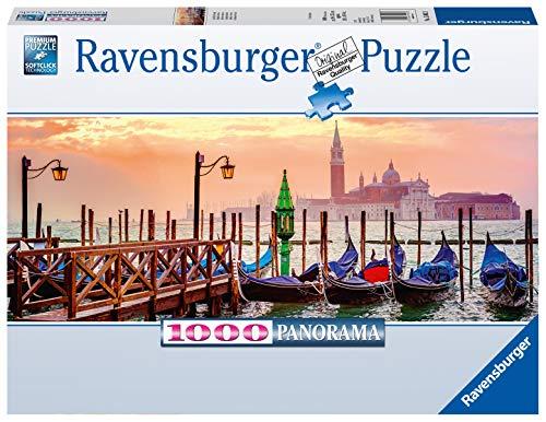 Ravensburger Puzzle Puzzle 1000 Pezzi Gondole A Venezia Formato Panorama Puzzle Per Adulti Puzzle Venezia Puzzle Ravensburger Stampa Di Alta Qualita 0