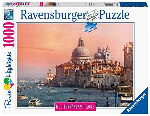 Ravensburger Puzzle Puzzle 1000 Pezzi Italia Puzzle Per Adulti Collezione Mediterranean Places Puzzle Venezia Puzzle Ravensburger Stampa Di Alta Qualita 0