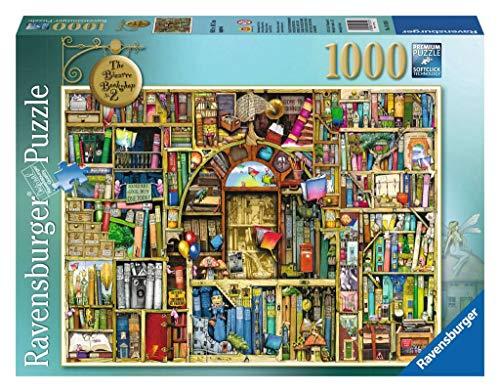 Ravensburger Puzzle Puzzle 1000 Pezzi La Biblioteca Bizzarra Di Colin Thompson Jigsaw Puzzle Per Adulti Puzzle Ravensburger Stampa Di Alta Qualita 0