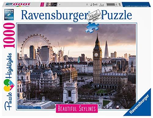 Ravensburger Puzzle Puzzle 1000 Pezzi Londra Puzzle Per Adulti Collezione Skylines Puzzle Citta Puzzle Londra Puzzle Ravensburger Stampa Di Alta Qualita 0
