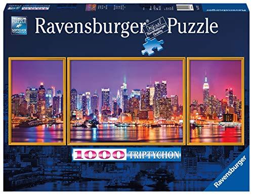Ravensburger Puzzle Puzzle 1000 Pezzi Luci A New York Formato Panorama Puzzle Per Adulti Puzzle New York Puzzle Ravensburger Stampa Di Alta Qualita 0