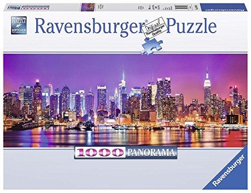 Ravensburger Puzzle Puzzle 1000 Pezzi Luci Di Manhattan Formato Panorama Puzzle Per Adulti Puzzle New York Puzzle Ravensburger Stampa Di Alta Qualita 0