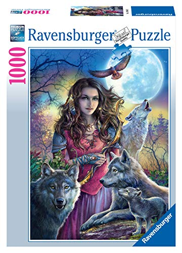 Ravensburger Puzzle Puzzle 1000 Pezzi Lupi Collezione Fantasy Puzzle Adulti Puzzle Ravensburger Stampa Di Alta Qualita 0