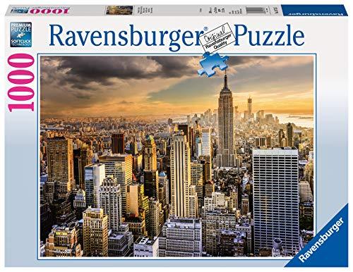 Ravensburger Puzzle Puzzle 1000 Pezzi Maestosa New York Puzzle Per Adulti Puzzle New York Puzzle Ravensburger Stampa Di Alta Qualita 0