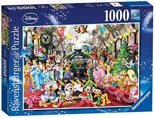 Ravensburger Puzzle Puzzle 1000 Pezzi Natale Disney Puzzle Per Adulti E Ragazzi Puzzle Disney Puzzle Ravensburger Stampa Di Alta Qualita 0