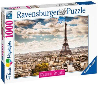 Ravensburger Puzzle Puzzle 1000 Pezzi Parigi Puzzle Per Adulti Collezione Skylines Puzzle Citta Puzzle Parigi Puzzle Ravensburger Stampa Di Alta Qualita 0 0