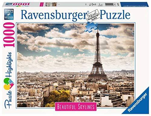 Ravensburger Puzzle Puzzle 1000 Pezzi Parigi Puzzle Per Adulti Collezione Skylines Puzzle Citta Puzzle Parigi Puzzle Ravensburger Stampa Di Alta Qualita 0