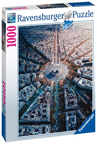 Ravensburger Puzzle Puzzle 1000 Pezzi Parigi Dallalto Collezione Paesaggi Foto Puzzle Per Adulti Puzzle Ravensburger Stampa Di Alta Qualita 0 0