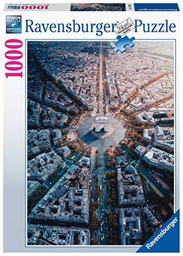 Ravensburger Puzzle Puzzle 1000 Pezzi Parigi Dallalto Collezione Paesaggi Foto Puzzle Per Adulti Puzzle Ravensburger Stampa Di Alta Qualita 0
