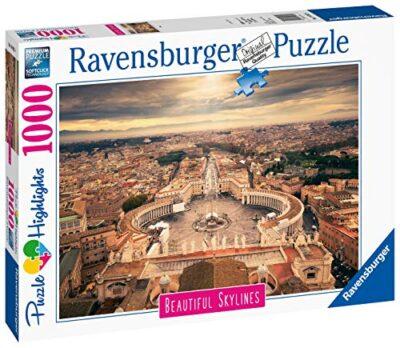 Ravensburger Puzzle Puzzle 1000 Pezzi Roma Puzzle Per Adulti Collezione Skylines Puzzle Citta Puzzle Roma Puzzle Ravensburger Stampa Di Alta Qualita 0 0