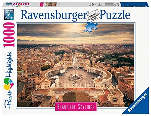 Ravensburger Puzzle Puzzle 1000 Pezzi Roma Puzzle Per Adulti Collezione Skylines Puzzle Citta Puzzle Roma Puzzle Ravensburger Stampa Di Alta Qualita 0