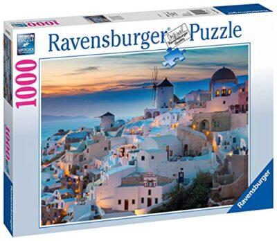 Ravensburger Puzzle Puzzle 1000 Pezzi Serata A Santorini Puzzle Per Adulti Puzzle Mare Puzzle Ravensburger Stampa Di Alta Qualita 0 0