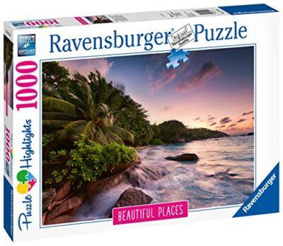 Ravensburger Puzzle Puzzle 1000 Pezzi Seychelles Puzzle Per Adulti Collezione Beautiful Places Puzzle Paesaggi Puzzle Ravensburger Stampa Di Alta Qualita 0 0