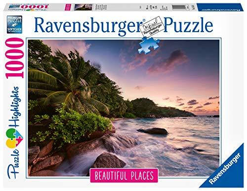 Ravensburger Puzzle Puzzle 1000 Pezzi Seychelles Puzzle Per Adulti Collezione Beautiful Places Puzzle Paesaggi Puzzle Ravensburger Stampa Di Alta Qualita 0