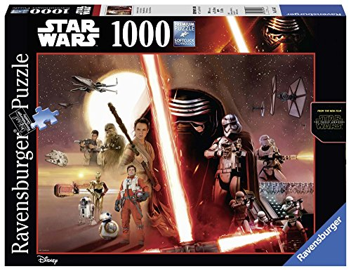 Ravensburger Puzzle Puzzle 1000 Pezzi Star Wars Black Edition Puzzle Per Adulti Puzzle Star Wars Puzzle Ravensburger Stampa Di Alta Qualita 0