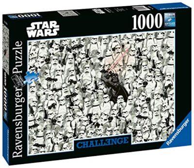 Ravensburger Puzzle Puzzle 1000 Pezzi Star Wars Puzzle Per Adulti Collezione Challenge Puzzle Impossibili Puzzle Ravensburger Stampa Di Alta Qualita 0 0