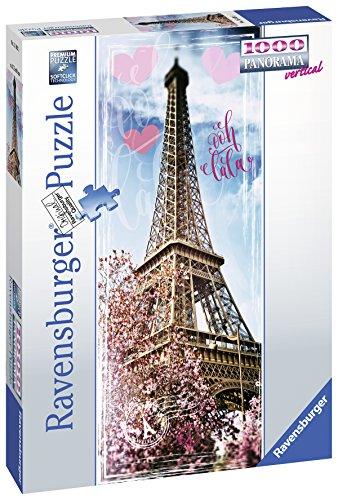 Ravensburger Puzzle Puzzle 1000 Pezzi Tour Eiffel Formato Panorama Puzzle Per Adulti Puzzle Parigi Puzzle Ravensburger Stampa Di Alta Qualita 0