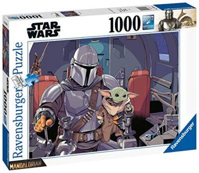 Ravensburger Puzzle Puzzle 1000 Pezzi Yoda The Mandalorian Puzzle Per Adulti Puzzle Star Wars Puzzle Ravensburger Stampa Di Alta Qualita 0 0