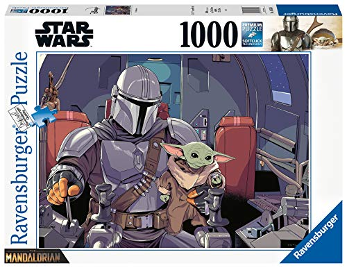 Ravensburger Puzzle Puzzle 1000 Pezzi Yoda The Mandalorian Puzzle Per Adulti Puzzle Star Wars Puzzle Ravensburger Stampa Di Alta Qualita 0