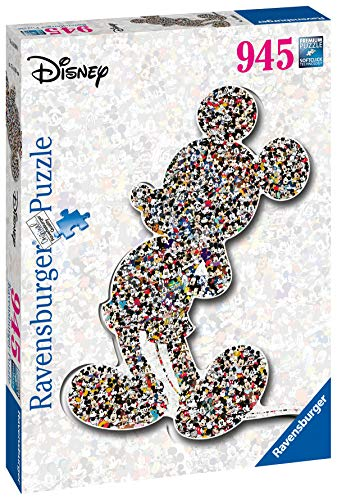 Ravensburger Puzzle Shaped Mickey Colore Giallo 16099 0 0