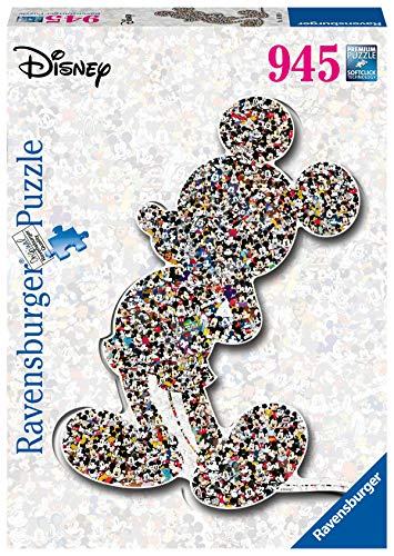 Ravensburger Puzzle Shaped Mickey Colore Giallo 16099 0