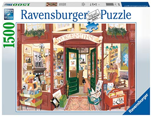 Ravensburger Puzzle Shop Libreria Di Word Smith Puzzle 1500 Pezzi Relax Puzzles Da Adulti Dimensione 80x60 Cm Stampa Di Alta Qualita Citta 0