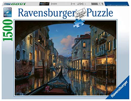Ravensburger Puzzle Sogno Veneziano Puzzle 1500 Pezzi Relax Puzzles Da Adulti Dimensione 80x60 Cm Stampa Di Alta Qualita Venezia Italia 0