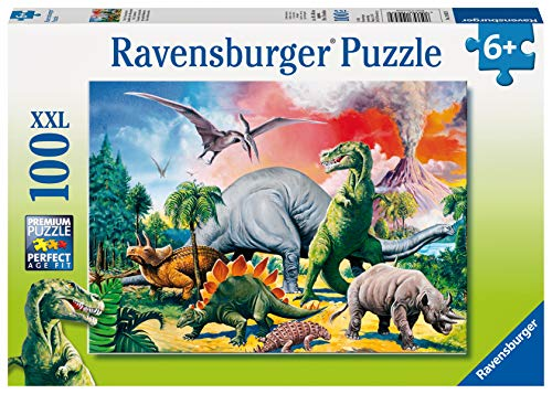 Ravensburger Puzzle Per Bambini 100 Pezzi Dinosauri Dimensione Puzzle 49x36 Cm Puzzle Per Bambini A Partire Dai 6 Anni 4005556109579 0