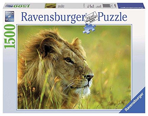 Ravensburger Re Della Savana Puzzle 1500 Pezzi Relax Puzzles Da Adulti Dimensione 80x60 Cm Stampa Di Alta Qualita Travel Viaggi Animali Africa 0