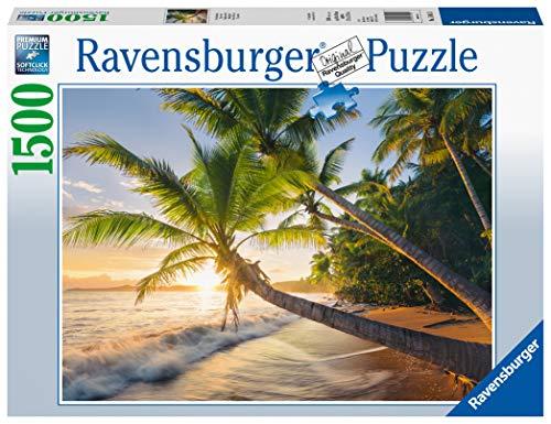 Ravensburger Spiaggia Segreta Puzzle 1500 Pezzi Relax Puzzles Da Adulti Dimensione 80x60 Cm Stampa Di Alta Qualita Travel Viaggi 0