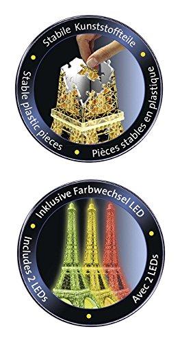 Ravensburger Tour Torre Eiffel Puzzle 3d Con Led Edizione Speciale Notte 216 Pezzi Multicolore 12579 0 2