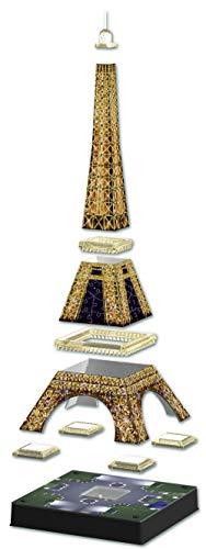 Ravensburger Tour Torre Eiffel Puzzle 3d Con Led Edizione Speciale Notte 216 Pezzi Multicolore 12579 0 3