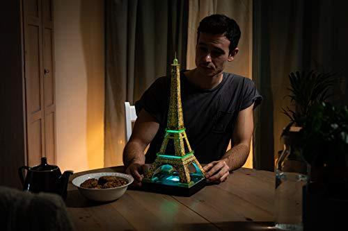 Ravensburger Tour Torre Eiffel Puzzle 3d Con Led Edizione Speciale Notte 216 Pezzi Multicolore 12579 0 4