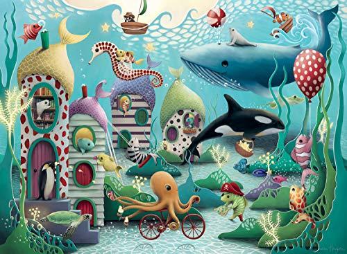 Ravensburger Underwater Wonders Puzzle Da 100 Pezzi Con Pezzi Extra Grandi Per Bambini Dai 6 Anni In Su 0 0